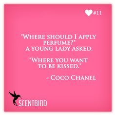 Where Should I Apply Chanel Coco Perfume
