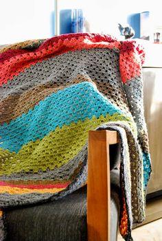 Le Grand Bazaar: Granny Stripes Blanket... 1 mois quand même hein...