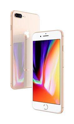 "Apple iPhone 8 Plus, Fully Unlocked 5.5"", 256 GB - Gold"