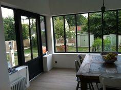 Pour tous vos projets d'extension ou de réhabilitation de l'habitat nous vous proposons ce concept de verrière façon atelier