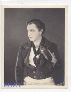 John Barrymore The Sea Beast VIBNTAGE Photo | Collectibles, Photographic Images, Contemporary (1940-Now) | eBay! John Barrymore, Beast, Leather Jacket, Classic Hollywood, Contemporary, Image, Studded Leather Jacket, Leather Jackets