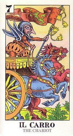 The Chariot - Tarocco Bizzarro
