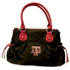 "Bethel International Texas A Polyester Handbag with Embroidered Logo 20""x14""x14"" $69.99"