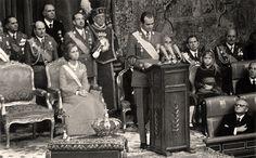 Búscame en el ciclo de la vida: Discurso de Juan Carlos de Borbón al ser proclamad...