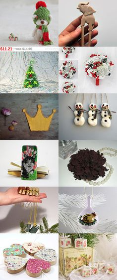 christmas gifts and home decor by Julia Andronova on Etsy--Pinned with TreasuryPin.com