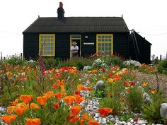 Derek Jarmans' Prospect Cottage at Dungeness UK