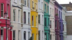 🌈 Eight lovely rainbow streets in London 🌈