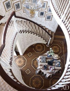grande staircase and floor