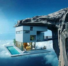 Modern house designs - Discover the unique design ideas of a modern home here. There are 21 examples of home design ideas created by professional architects Futuristic Architecture, Amazing Architecture, Interior Architecture, Architecture Antique, Fashion Architecture, Architecture Panel, Architecture Portfolio, Crazy Houses, Unusual Buildings