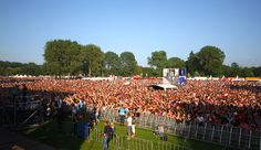 Park Pop. Every summer the largest free pop festival in Europe