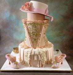 -  #vintage #cake #dress