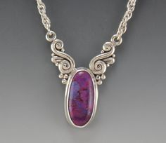 Hey, I found this really awesome Etsy listing at https://www.etsy.com/listing/261190134/sterling-silver-copper-purple-turquoise