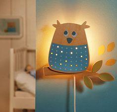 Lampa - kinkiet Sowa