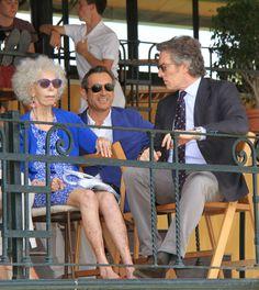 La duquesa de Alba reaparece muy recuperada en su tercer aniversario de boda con Alfonso Diez. Acudió al Real Club Pineda de Sevilla para ver competir a su hijo Cayetano Martínez de Irujo en la II edición de la Ruta Vía de la Plata. 05 de Octubre de 2014