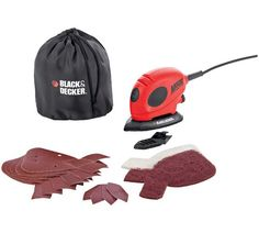 Buy Black and Decker Mouse Detail Sander with Accessories - 55W at Argos.co.uk, visit Argos.co.uk to shop online for Sanders and planers, DIY power tools, DIY tools and power tools, Home and garden