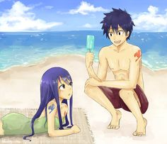 Done on July 19/2013 Tools : Pain tool SAI summer time rowen <3 Wendy x Romeo inspired by Mashima's tweet~ I know, I know.. I've some progress to do for body xD it's the reason why I don't do a ...