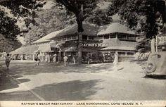 Raynor's Beach Restaurant, Lake Ronkonkoma, NY.
