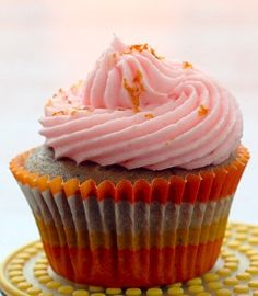 Tequila Sunrise Cupcake (from Love and Olive Oil)