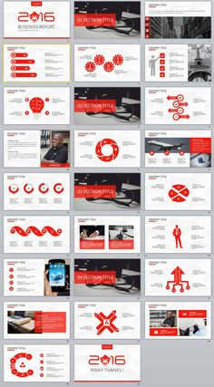 26+ Red Business Report Powerpoint Templates | PowerPoint Templates and Keynote Templates Professional Powerpoint Templates, Powerpoint Themes, Creative Powerpoint Templates, Powerpoint Presentation Templates, Keynote Template, Infographic Powerpoint, Creative Infographic, Infographics, Business Ppt