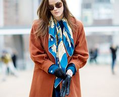 15+New+Ways+to+Tie+Your+Scarf+This+Fall+via+@WhoWhatWearUK