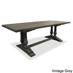 Capistrano Rectangular Dining Table | Overstock.com Shopping - Great Deals on Dining Tables