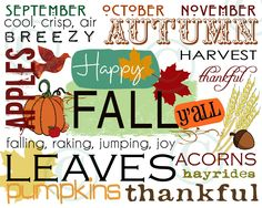 Happy Fall Y'all Invite  Party Plans at #Key Lime Crops  www.KeyLimeCrops.com