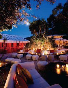 Restaurante y copas. KM5. Ibiza.