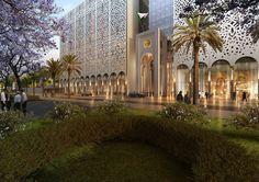 Bureau Architecture Méditerranée Designs Algerian Parliament Around a Vast Plaza