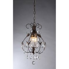 Warehouse of Tiffany Maleficent RL8052 Chandelier | from hayneedle.com