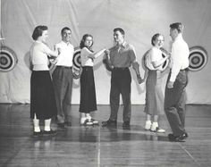 Dancing in the 1950s at Grand Rapids Junior College.