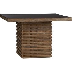 Paloma Square Dining Table in Dining Tables | Crate and Barrel