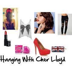 """Hanging With Cher Lloyd"" by karaeastman on Polyvore @cheryl ng Bogertman Lloyd ✔"