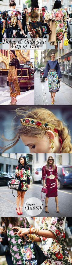 Tendência do momento: Estilo Dolce & Gabbana de ser!!!    por Camila Coelho |  Supervaidosa       - http://modatrade.com.br/tend-ncia-do-momento-estilo-dolce-amp-gabbana-de-ser