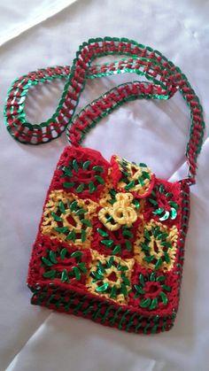 Creativity and talent.  Crochet Heneiken tabs bag...Ashlea's Designs