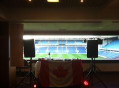 DJing a Blackburn Rovers FC