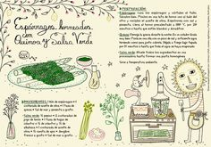 Salsa Verde, Quinoa, Food, Drinks, Pie Recipes, Homemade Recipe, Vegetarian Recipes, Desserts, Illustrated Recipe
