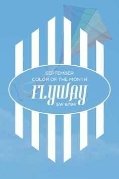 Sherwin-Williams' September Color of the Month: Flyway (SW 6794)