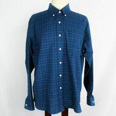 d7cd3a0c20ae2 Cabin Creek Womens 12 Oxford Shirt Relaxed Cotton Blend LS Buttons Wrinkle  Free  CabinCreek  ButtonDownShirt  Casual