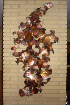 Copper Wall Sculpture $2500