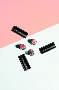 Marc Jacobs lipsticks via Byrdie
