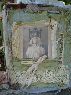 Victorian inspired sew album by keeshagirl4, via Flickr