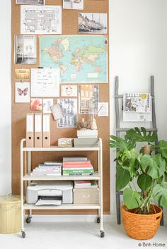 Kantoorartikelen van Hema in de studio | Binti Home Blog
