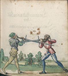 Title: Goliath (MS Germ.Quart.2020), Page: Folio 36r, Date: 1510-1520