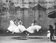 Andre Kertesz ~Ballet, New York, 1938