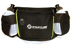 Startline Sports Running Belt 2 Water Bottles Easy to Use Zippered Pocket Safely Keeps Valuables Secure -- Be sure to check out this awesome product.
