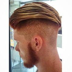 #InstaSize #hairdresser #hairstyle #haircut #hair #barbershopconnect #barbershop #barber #americancrew #clipper #model #men #style #GQ