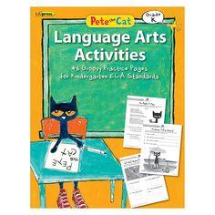 PETE THE CAT LANGUAGE ARTS WORKBOOK KINDERGARTEN