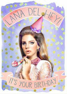 Happy birthday to the Queen of Alternative, Ms. Lana Del Rey!! ♡♡♡♡