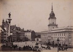 Warsaw, the capital of Poland is renowned around the world as the phoenix city that rose up from the ruins and conducted a reconstruction and rebuilding. Warsaw City, Krakow Poland, War Image, Jewish History, Beautiful Buildings, Old Town, Old Photos, Paris Skyline, 19th Century