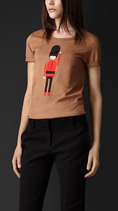 Burberry Prorsum Guard Cotton T-shirt
